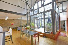 Nantes, Mercoeur : Loft avec patio en plein coeur de Nantes - Agence EA Nantes