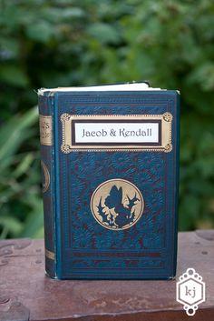 Vintage Guest Book by Binding Bee Vintage Wedding Inspired