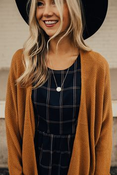 Love this waffle knit cardigan
