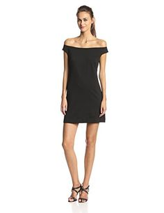 c53ca4b1cb16 Trina Trina Turk Women s Keira Ponte Off Shoulder Dress