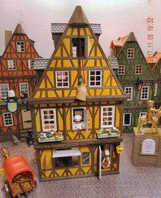 gelbes Haus Bäckerei Ladenfront