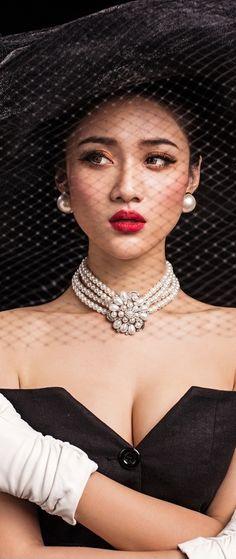 Billionaire Club / pearls / karen cox