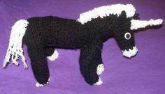 kleines Einhorn (gehäkelt) little Unicorn (croched)