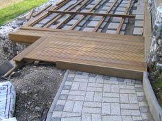 terrassen auf st nderwerk holzterrasse die bauanleitung zum selber bauen terasse pinterest. Black Bedroom Furniture Sets. Home Design Ideas