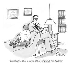 Counseling humor but very poignant as well.