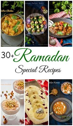 Find 30 + easy Ramadan special recipes with step by step instructions. iftar recipes are also included in this compilation.