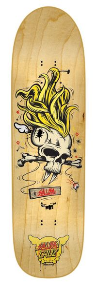 Santa Cruz: Salba Deface OS Salba Cruz Deck 8.9in x 32.5in Skateboard Deck Art, Skateboard Design, Skate Decks, Skate Surf, Creature Skateboards, All Ride, Shape Art, Art Boards, Concept Art