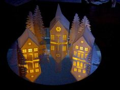 2015 Note:   I have continued to expand Tea Light Village and made the files available at my sister site. Visit 3dcuts.com  for mote info...