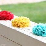 how to make these flowers and many more little project tutorials