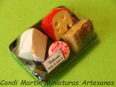 1/12 Scale - Packaged Cheese Board - Dollhouse miniature food by CANDI MARTÍN by CandiMartinMinifood on Etsy https://www.etsy.com/listing/158984587/112-scale-packaged-cheese-board