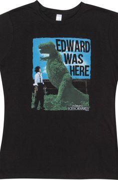 Ladies Edward Was Here Shirt