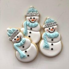 Your place to buy and sell all things handmade Snowman Cookies, Snowflake Cookies, Christmas Sugar Cookies, Christmas Desserts, Cut Out Cookies, Yummy Cookies, Schneemann Cookies, Horse Treats, Christmas Snowman