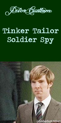 TINKER TAILOR SOLDIER SPY ~ Benedict Cumberbatch as Peter. [Video/GIF]