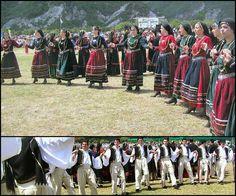 Vlachs from Kefalovryso , Ioannina, Greece/ Παραδοσιακες φορεσιες Βλαχων απ το Κεφαλοβρυσο Ιωαννινων.