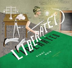 Laurindo Feliciano #illustration #winelabel #design #collage #liberated