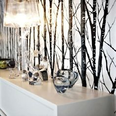 That's cool to paint trees on ur wall
