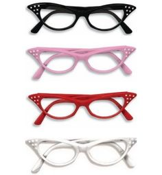 cat eye glasses for sock hop favors