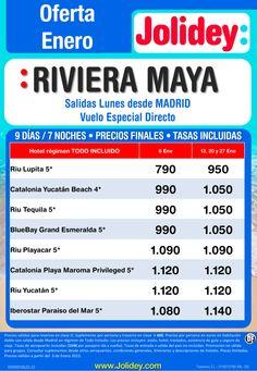 Oferta Enero - Riviera Maya desde 790€ Tax incluidas. Salidas Lunes 6, 13, 20 y 27 ultimo minuto - http://zocotours.com/oferta-enero-riviera-maya-desde-790e-tax-incluidas-salidas-lunes-6-13-20-y-27-ultimo-minuto/