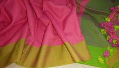 Plain khadi with blouse piece ( color of pallu ). Click here to order https://www.moifash.com/south-ethnicz/product?id=58df55d3a545fa86137e3609