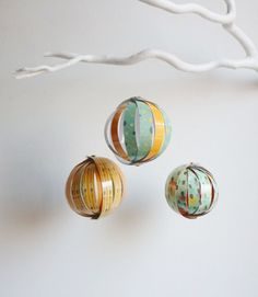 Laminated paper ornaments