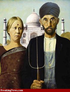 American Gothic in India