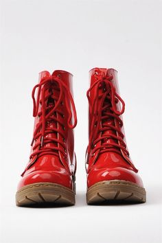 Pax Boots - Red