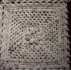 """Ravelry: Simple and Elegant Charm 8"""" Square Pattern pattern by Julee Reeves"""