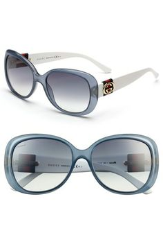 Gucci 56mm Oversized Sunglasses | Nordstrom