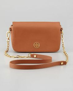 shopstyle.com: Tory Burch Robinson Mini Chain-Strap Bag, Luggage