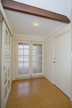 Existing Entry...Before Renovation