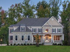 Romm Custom Homes - Madison Stone Exterior