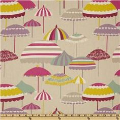 I know it's fabric but it would be such cute wallpaper. P Kaufmann Cannes Dove