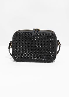 & Other Stories image 1 of Braided Shoulder Bag in Black