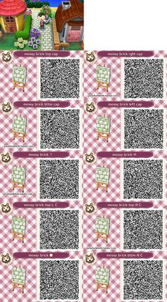 Animal crossing new leaf qr codes includes spring for Meubles japonais acnl