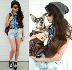 Totally making a replica of her shirt.! 100th Look, CoCo and Me! :) (by Kendall C.) http://lookbook.nu/look/3392557-1-th-Look-CoCo-and-Me