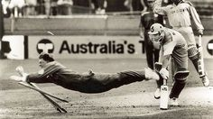 The Greatest of All Time: Jonty Rhodes' most famous run out of Inzamam in the 1992 World Cup.