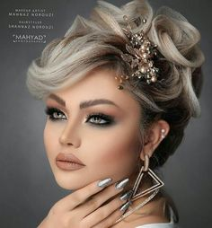 Sexy Makeup, Beauty Makeup, Makeup Looks, Hair Makeup, Hair Beauty, Bridal Makeup, Wedding Makeup, Bridal Hair, Hairdo Wedding