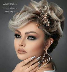 Sexy Makeup, Beauty Makeup, Makeup Looks, Hair Makeup, Hair Beauty, Hairdo Wedding, Wedding Hairstyles, Bridal Makeup, Bridal Hair