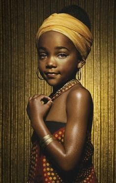 Beautiful black princess