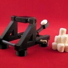 Seej est un jeu de plateau de guerre en open-source et imprimé en 3D.  Ce fichier 3D contient presque tout ce dont vous avez besoin pour commencer à jouer à Seej. Il ne vous manquera plus que des pièces de monnaie (faisant office de projectiles) et des élastiques.  La récente prolifération des imprimantes moins chères car dotées de plates-formes de construction plus petits a nécessité la création d'une catapulte plus petite (elle est également présente dans le dossier à télécharger). La c...