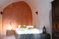 The Stone Villa, Santorini, Greece | boutique-homes.com