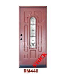 Mahogany Exterior Fiberglass Door 440 | Darpet Interior Doors for Chicago Builders :/