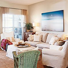 50 Colorful, Cozy Spaces   Interesting Array   CoastalLiving.com