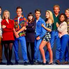 90210...I spent way too much summertime indoors watching this!!!