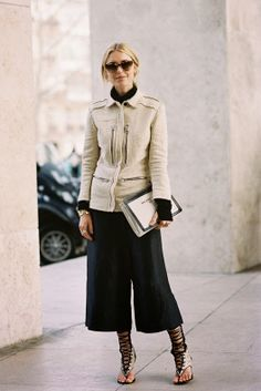 Paris Fashion Week AW 2014....Pernille