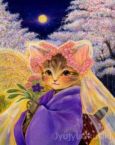 桜の夜 http://gentougarelly.blog.shinobi.jp/