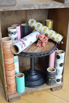 "Exciting new DIY Decor Tape by Hazel & Ruby! 4"", 8"", 12"" and 24"" rolls of washi-style tape for home-dec and endless DIY projects!"