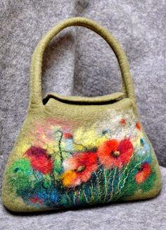 """Милые сердцу штучки: Войлок, шерсть и фетр: """"Великолепные сумки от Renatos Veltinis (Литва)"""""""