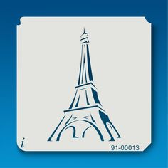 91-00013 Eiffel Tower Decorative Stencil