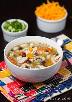 Crockpot Enchilada Soup #glutenfree